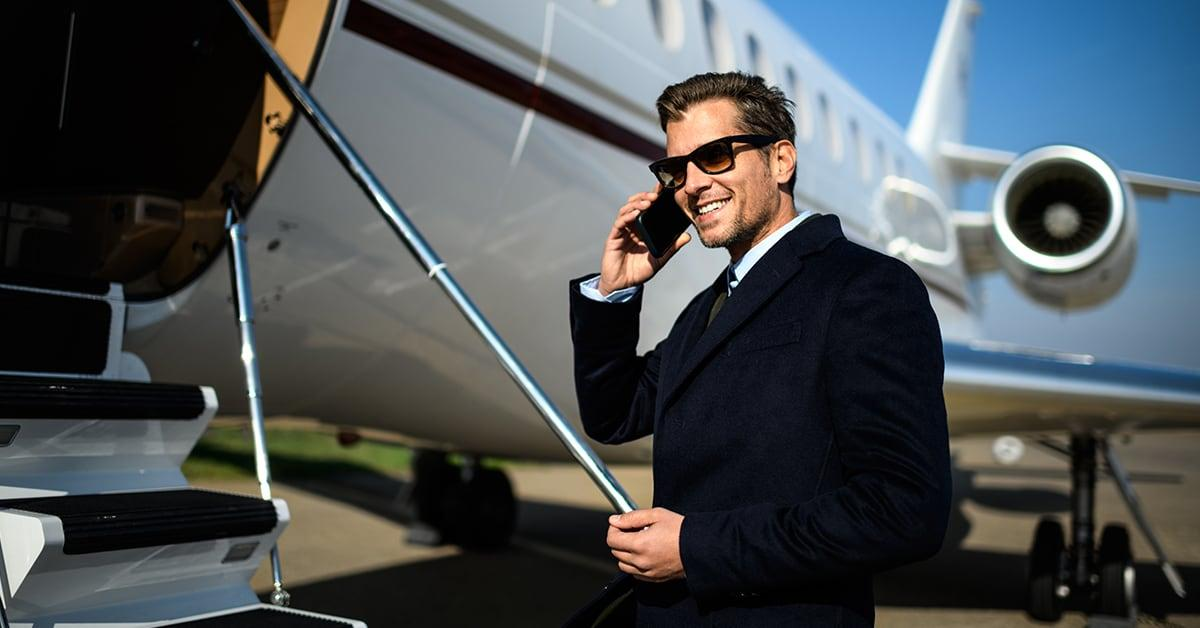 Blackbird app lets you split cost of a private plane trip