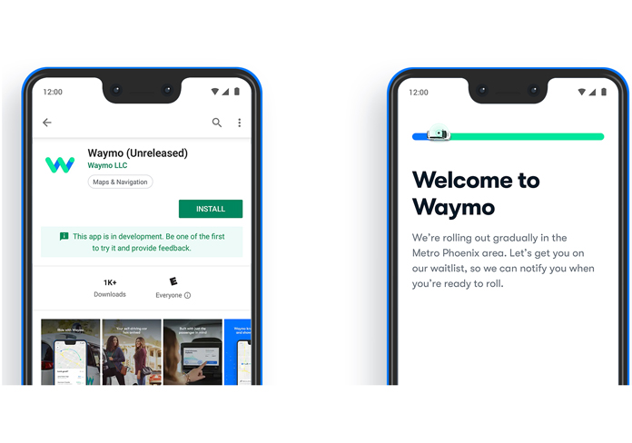 Waymo launches robotaxi app on Google Play